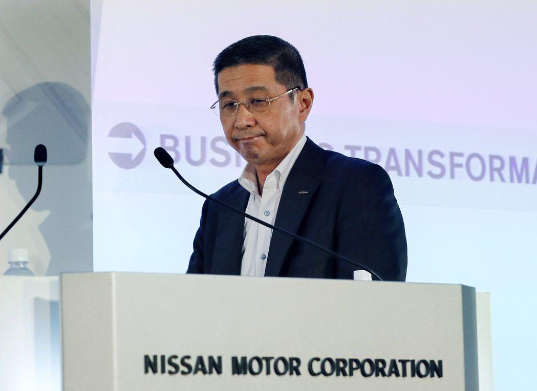 日產汽車(Nissan)執行長西川廣人。 歐新社