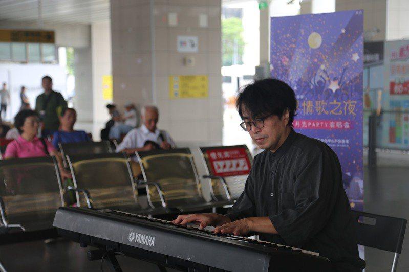 豐原火車站今天有音樂快閃活動,本周四在葫蘆墩文化中心有演唱會。圖/葫蘆墩文化中心提供