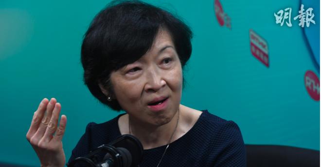 香港行政會議成員羅范椒芬今天宣稱,確認有女子向示威「勇士」提供免費性愛。(明報網...