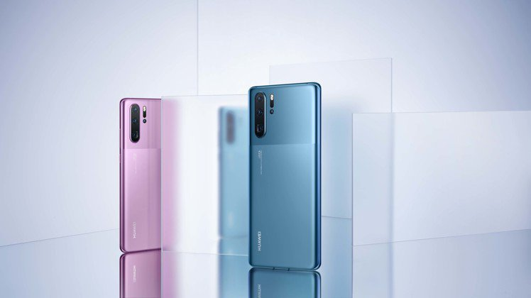 華為推升級版HUAWEI P30 Pro,以霧面蝕砂工藝打造墨玉藍與嫣紫色兩種全...