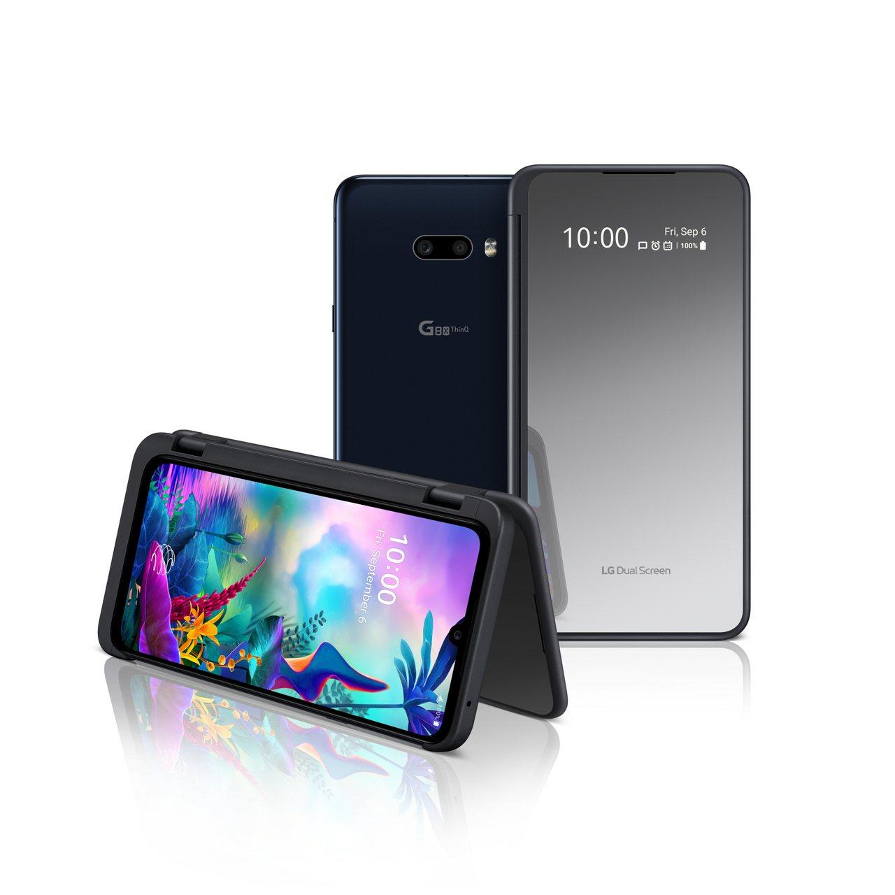 LG於IFA發表G系列最新款智慧型手機LG G8XThinQ,與技術更升級的雙螢...