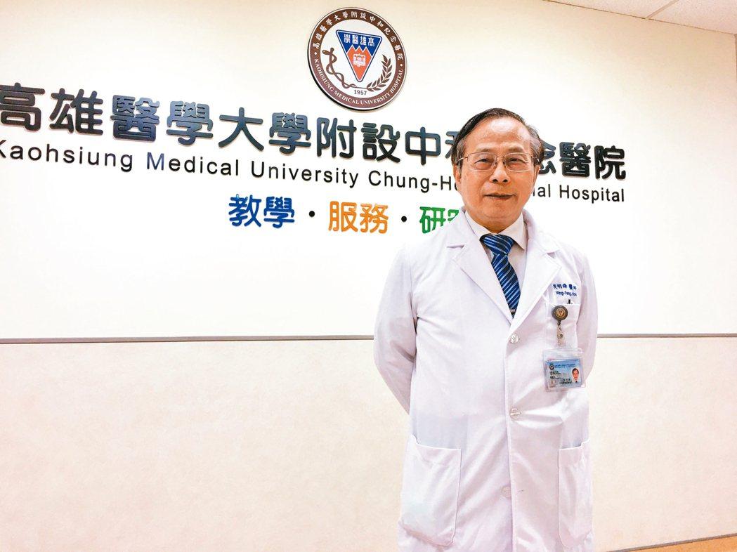 高雄醫學大學附設中和紀念醫院院長侯明鋒。 記者鄧桂芬╱攝影