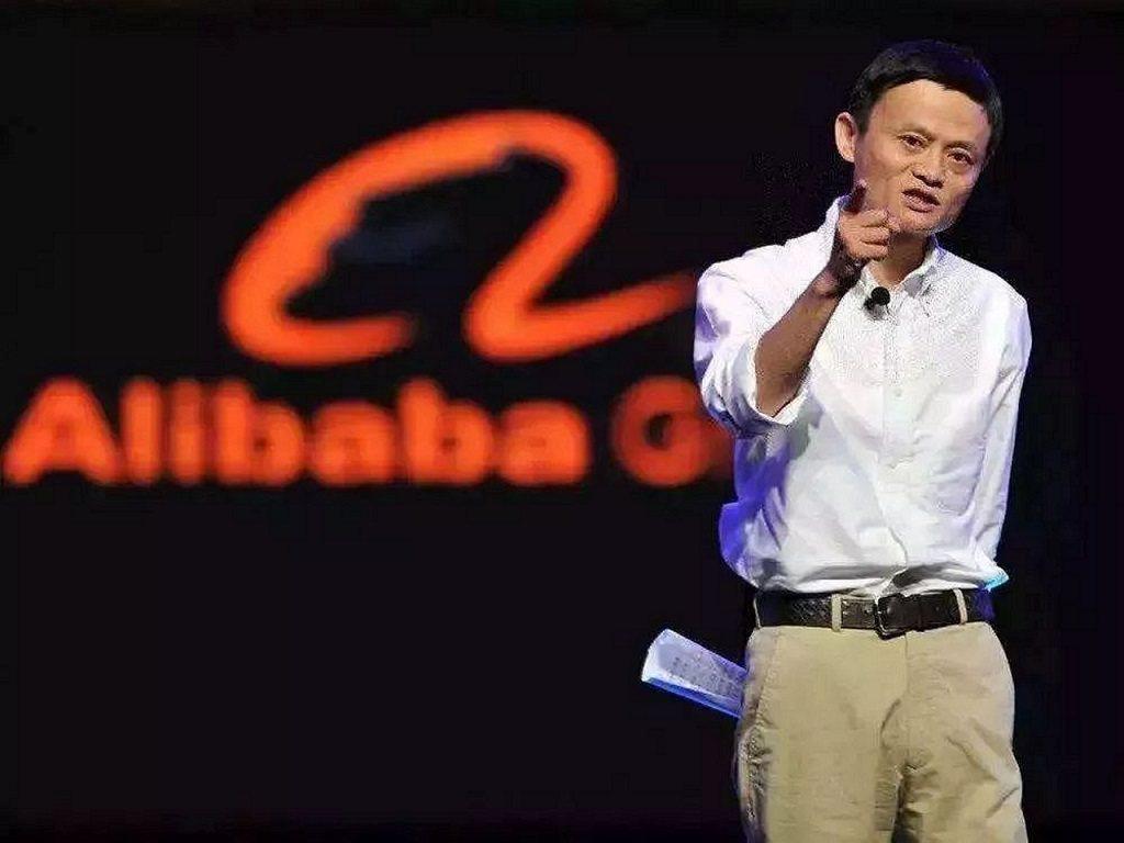 馬雲在9月10日卸任阿里巴巴集團董事局主席職務。 圖/騰訊科技