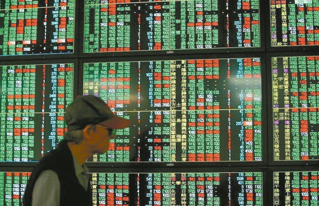 電子股今日有資金流出現象,台股表現轉弱。本報資料照片