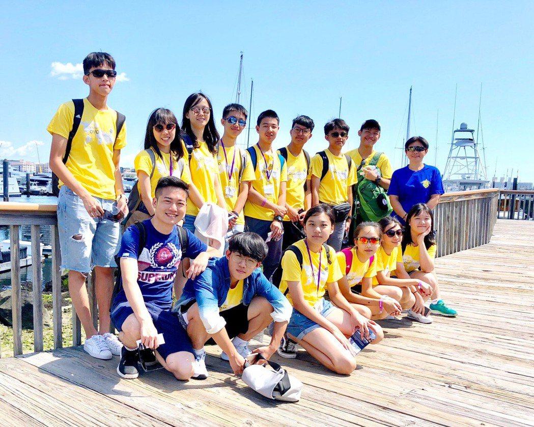 2019美國紐約波士頓學習型遊學團大獲好評。OVO Education/提供