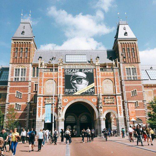 荷蘭國家博物館的逃脫遊戲。圖/陳若齡攝