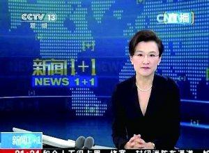 央視記者董倩 (取材自澎湃新聞)