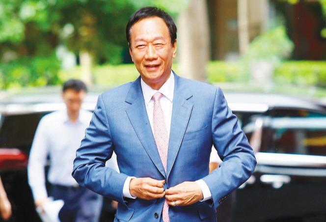 鴻海創辦人郭台銘今(12)日宣布退出國民黨。本報資料照片