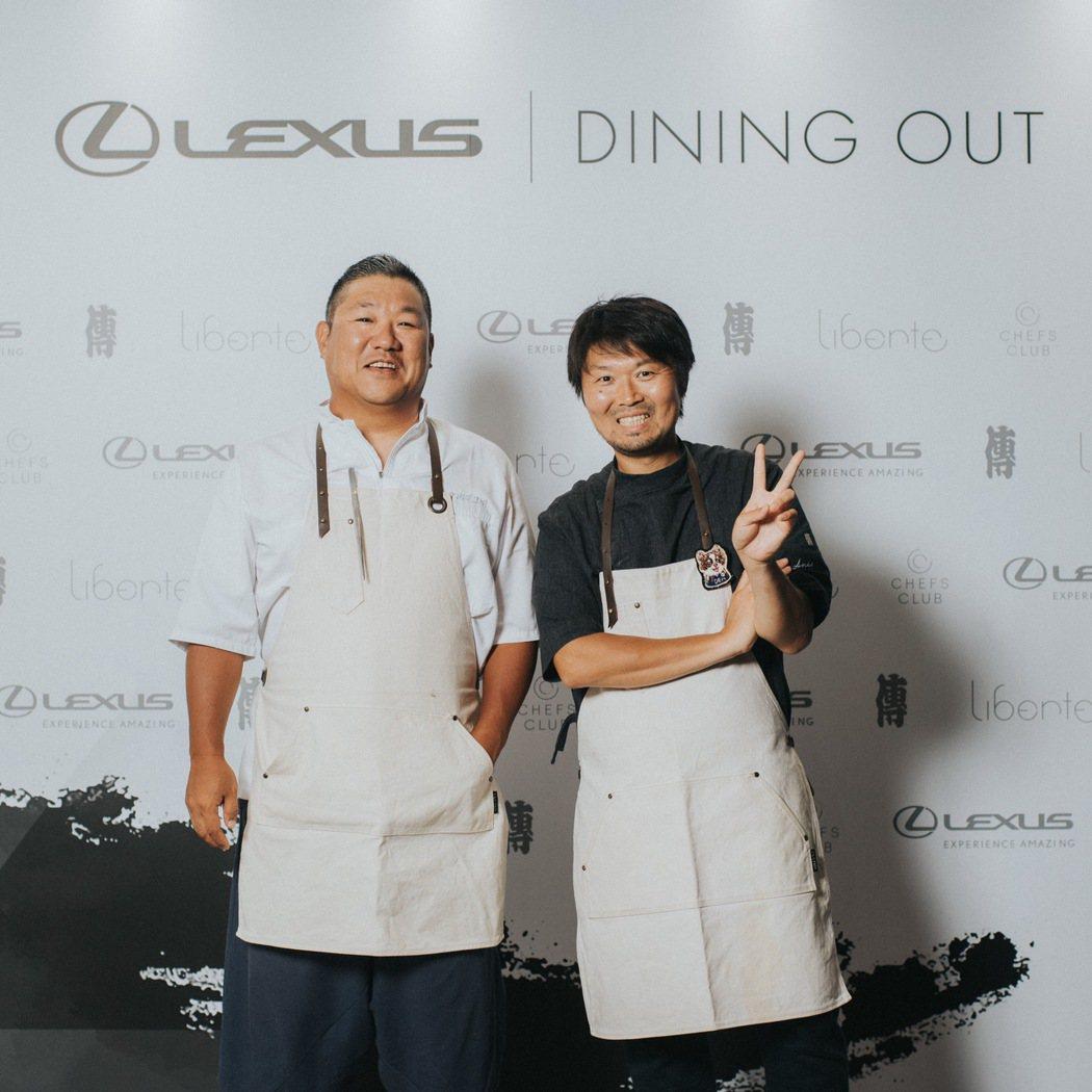 LEXUS年度盛事 Dining Out車主專屬美食饗宴活動,請來風靡日本東京的...