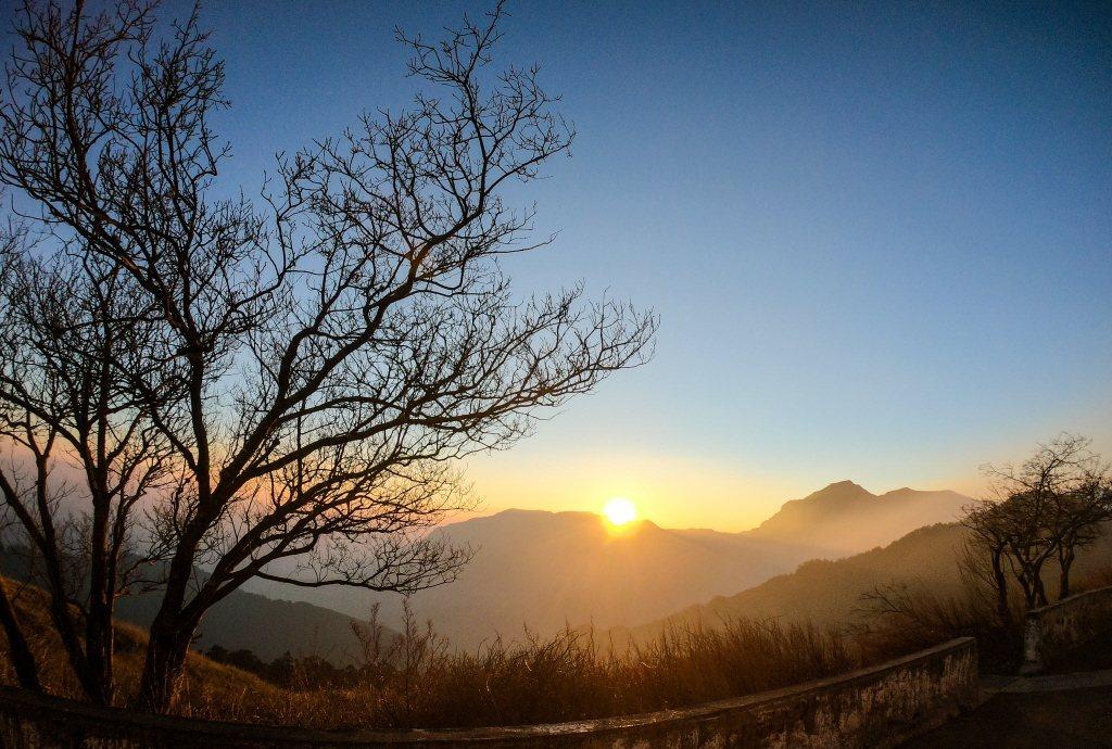 合歡山日出。本報系資料照/記者王騰毅攝影