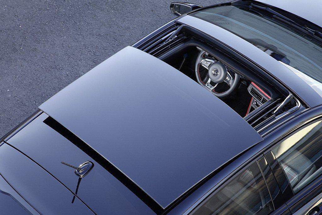福斯Polo GTI Anniversary SE週年限定版,增加大尺寸電動玻璃...