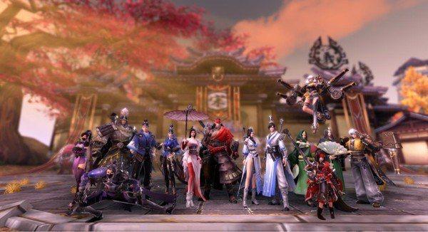 唯美高畫質的場景,讓玩家可以有電影般的視覺享受。 圖/宇峻奧汀 提供