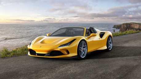 上空躍馬第一彈Ferrari F8 Spider 輕量化V8敞篷超跑!