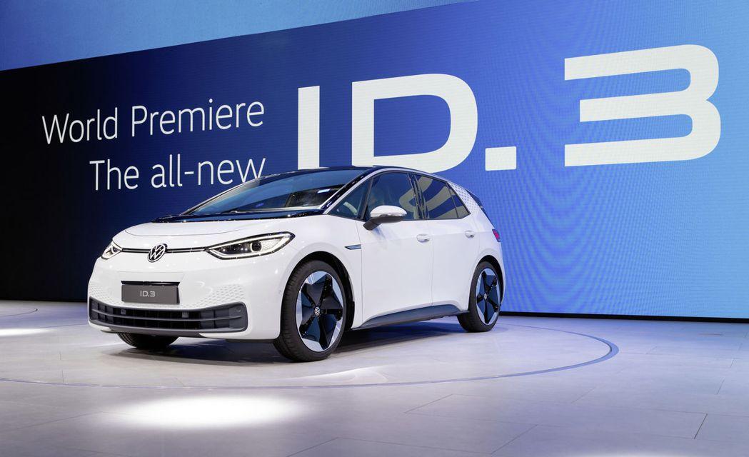 Volkswagen ID.3在法蘭克福展前於福斯之夜正式發表。 摘自Volks...