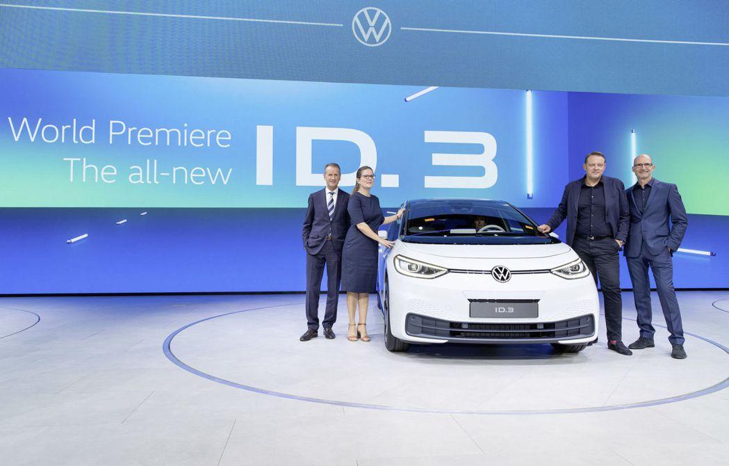 Volkswagen ID.3 同時也是ID. Family純電家族的成員之一。...