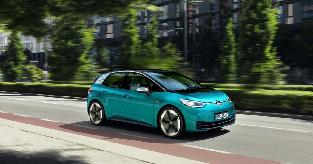 Volkswagen ID.3是品牌首部搭載MEB電動模組化平台的車款。 摘自V...