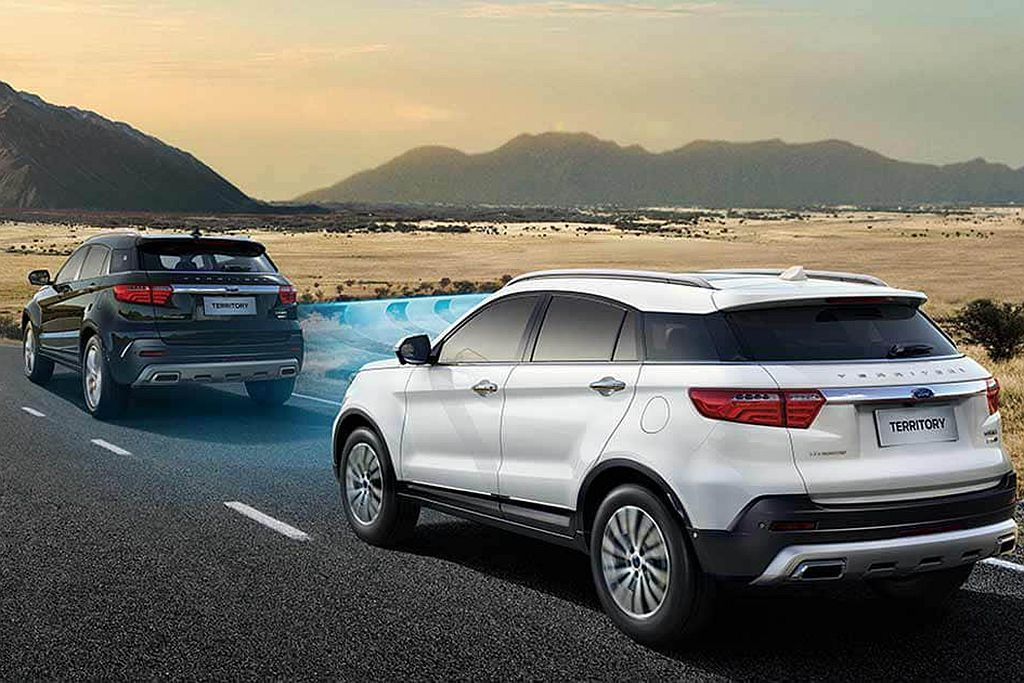 Ford Territory相同具備Ford Co-Pilot360智行駕駛輔助...