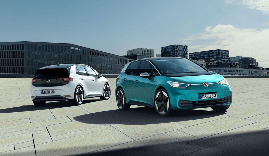 Volkswagen ID.3入門款售價為30,000歐元。 摘自Volkswa...