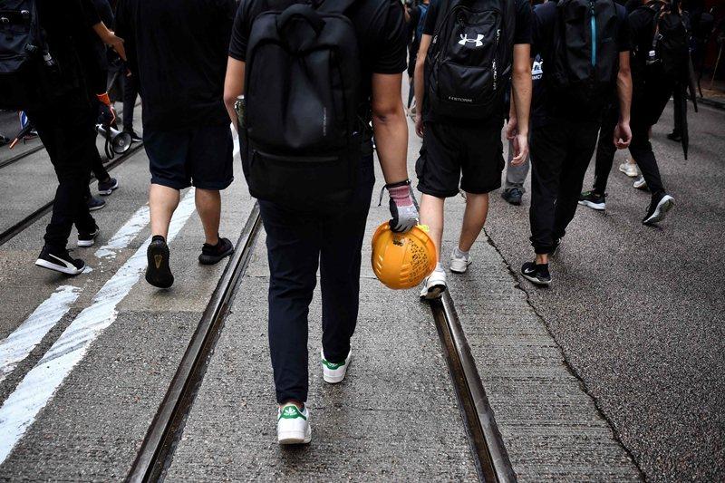 攝於9月9日,香港。 圖/法新社