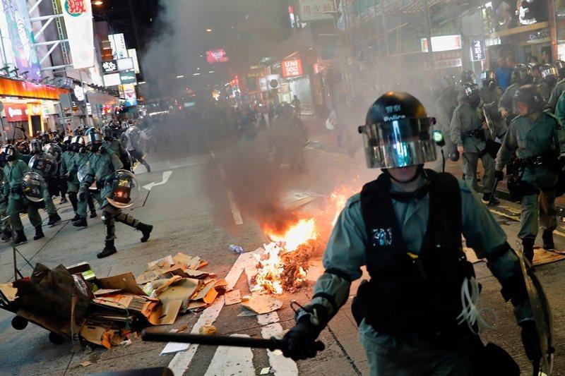 攝於9月6日,香港。 圖/路透社