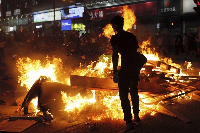 攝於9月6日,香港。 圖/美聯社