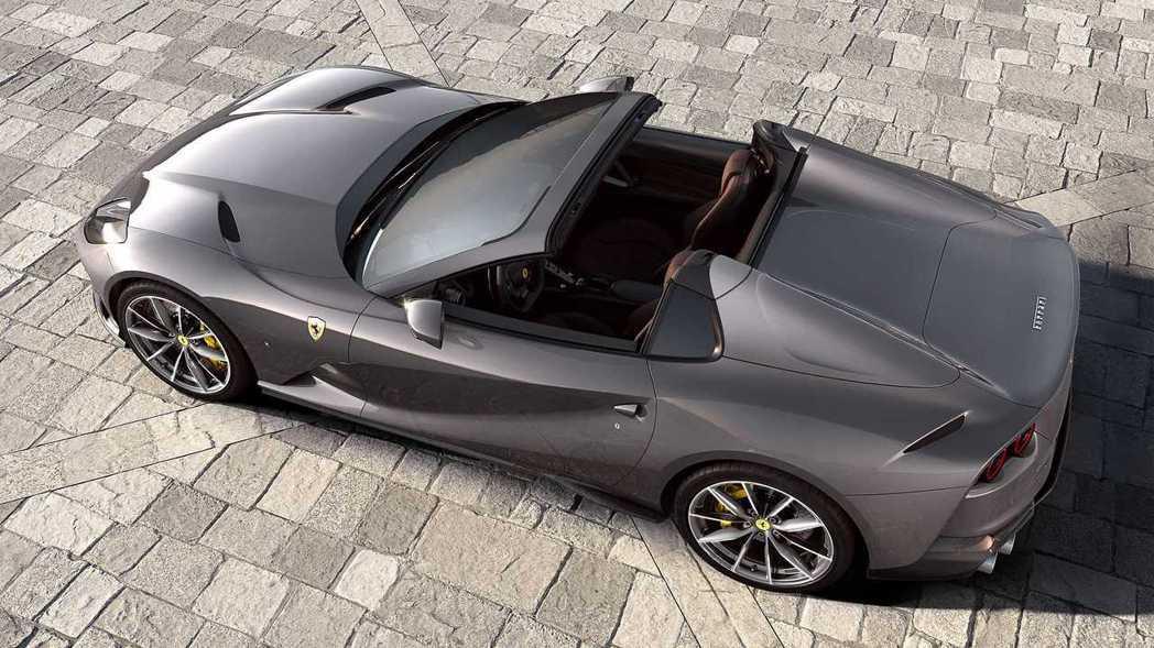 Ferrari 812 GTS。 摘自Ferrari