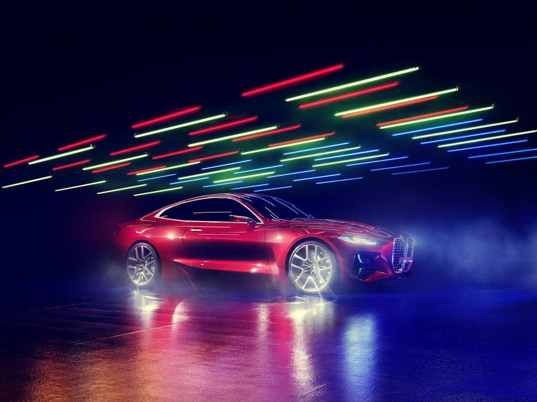 BMW Concept 4。 摘自BMW