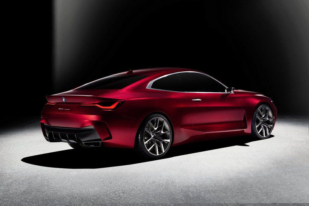 BMW Concept 4也預覽新世代4 Series的樣貌。 摘自BMW