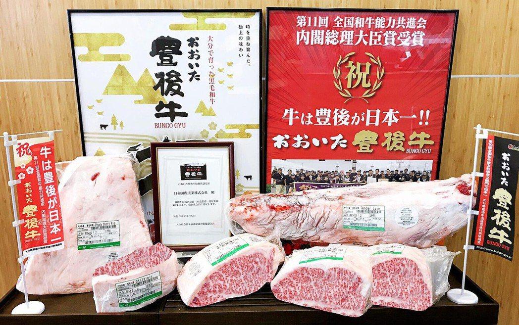 大分和牛肉質柔軟、口感多汁,香氣和甜度很受消費者喜愛。 業者/提供