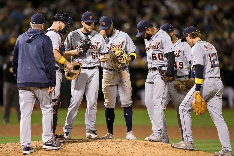 老虎隊投打各項成績都接近或就是全聯盟最爛,在團隊士氣極度低迷的情況下,率先拿下一...