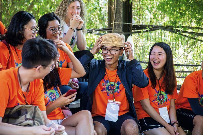 青年領袖人才的交流,可加速拓展台灣青年的視野。