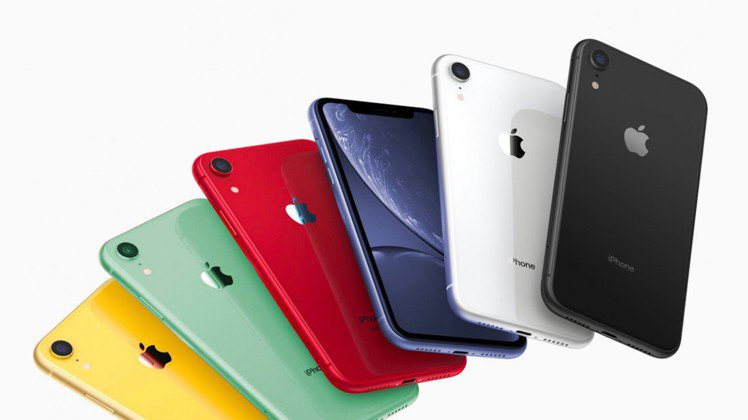 iPhone 11延續iPhone XR的多彩設計,將擁有黑、白、紅、黃、綠、薰...
