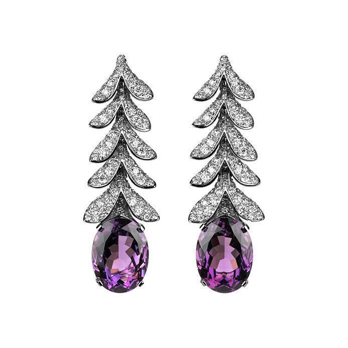 寶詩龍高級珠寶系列Glycine耳環,137萬元。圖/寶詩龍提供