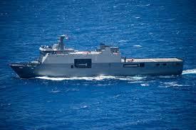 菲律賓海軍丹轆級(Tarlac Class)船塢登陸艦「南納卯號(BRP Dav...