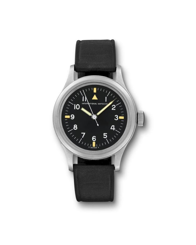馬克十一飛行員腕表(1952年)搭載89型手上鍊機芯,於1948年首度問世。圖/...