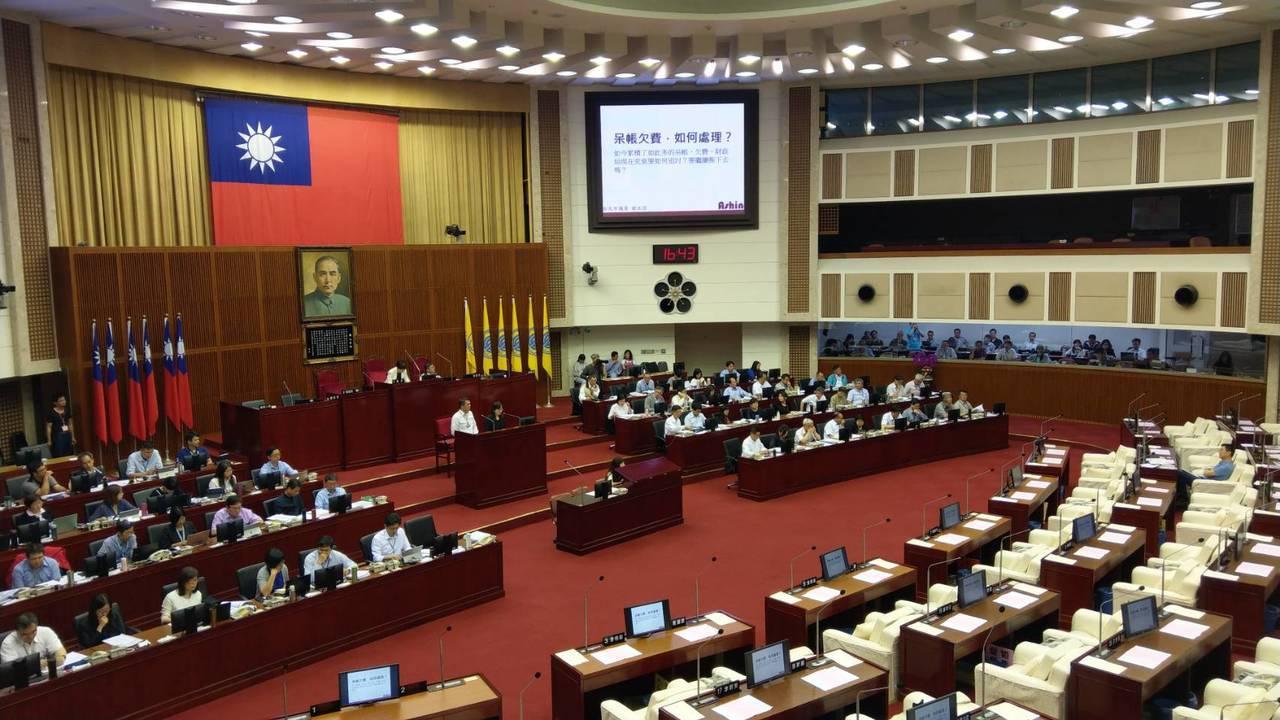 台北市長柯文哲籌組民眾黨後,明首次在議會進行施政報告。記者楊正海/攝影