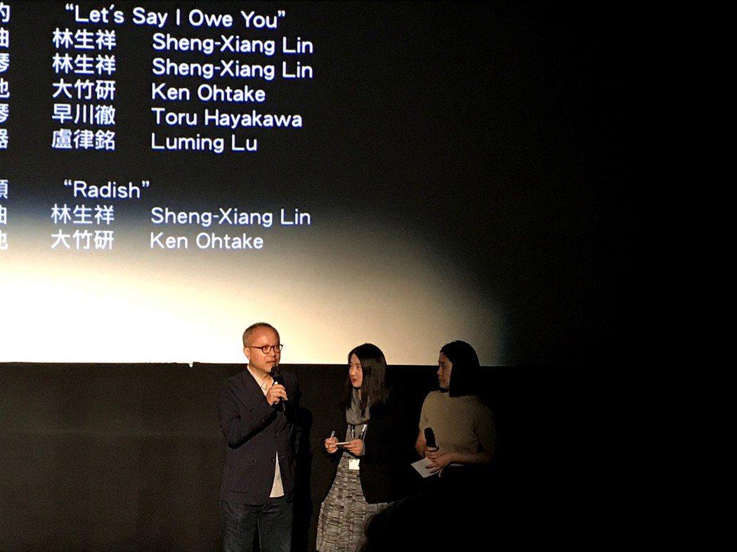 鍾孟宏出席「陽光普照」第二場多倫多影展播映,現場迴響熱烈。圖/甲上提供