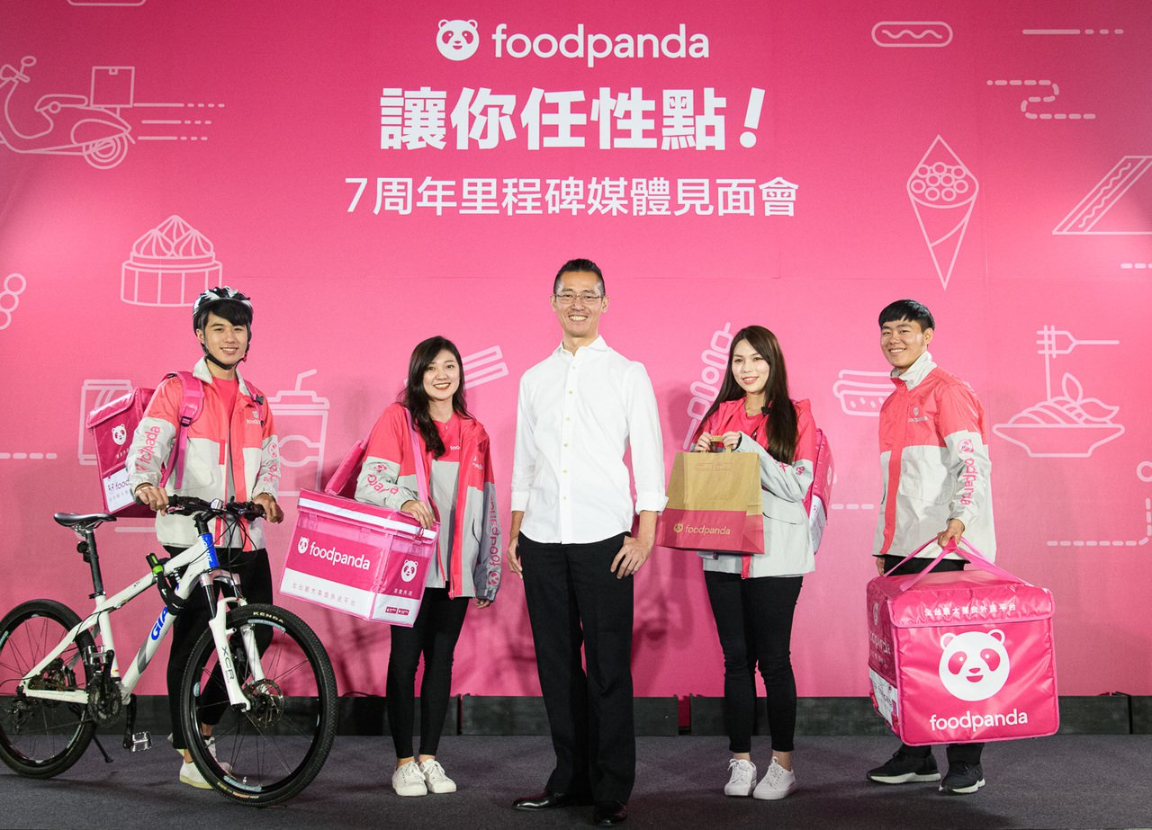 foodpanda董事總經理方俊強首次與台灣媒體見面,公布在台7周年成績單與品牌...