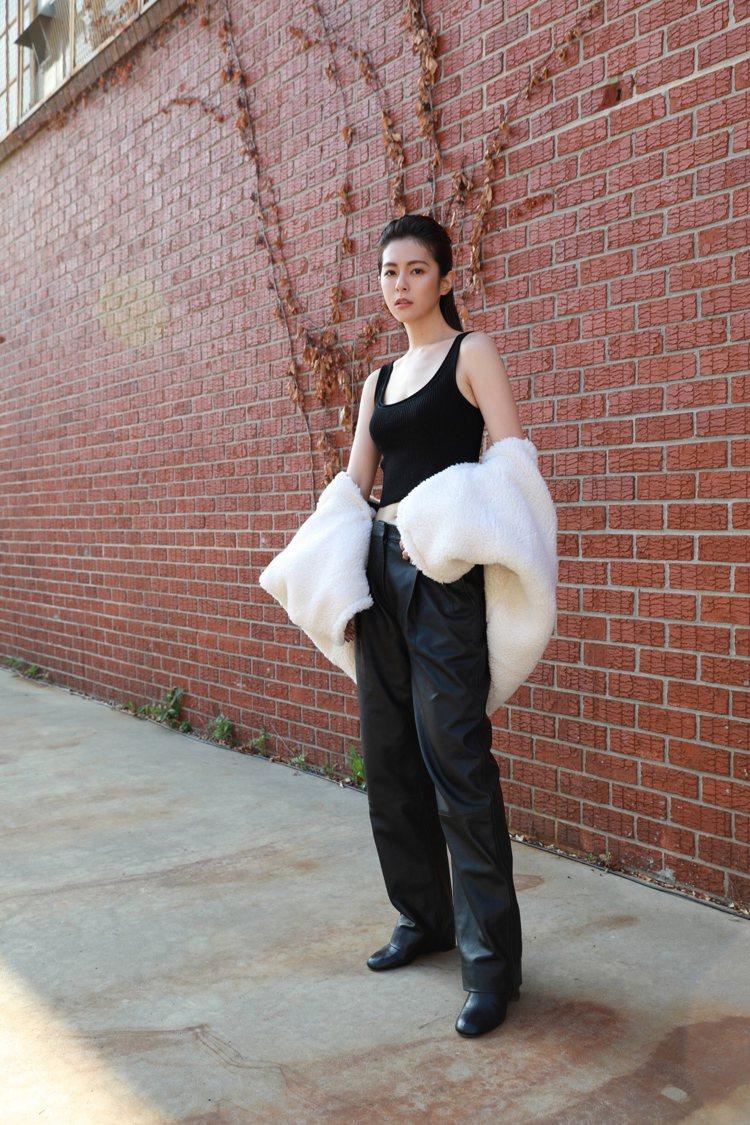 任容萱在紐約時裝周狀態極佳。圖/3.1 Phillip Lim提供
