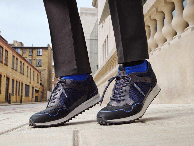 英國男裝品牌dunhill在這季推出了升級款Radial運動鞋,24,500元。...