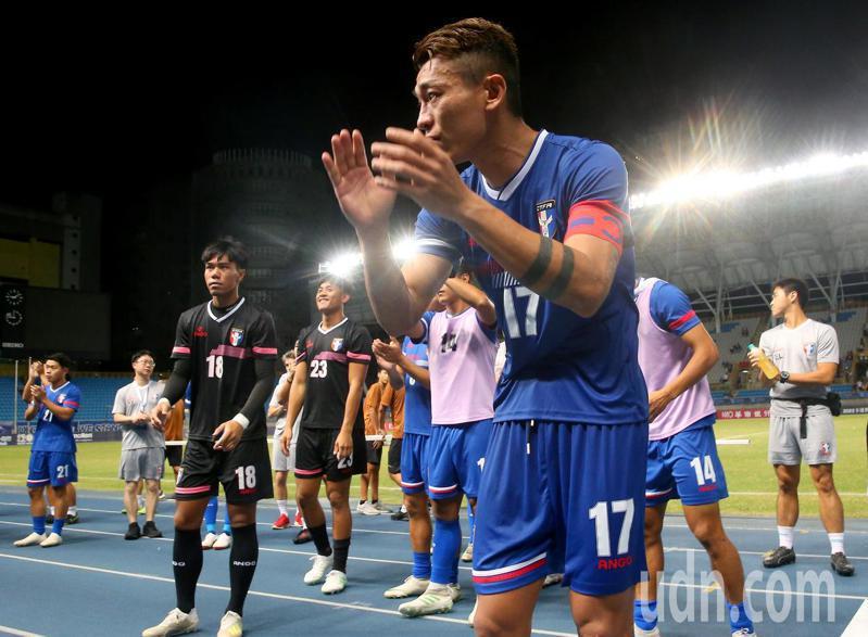 受到新冠肺炎疫情全面停擺的國際足球賽事即將恢復,中華男足首戰預計於10月8日作客尼泊爾。 聯合報系資料照