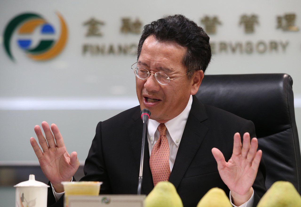 金管會主委顧立雄表示,金融科技業必須與金融業合作,拓展海外市場,擴大營收、市值,...