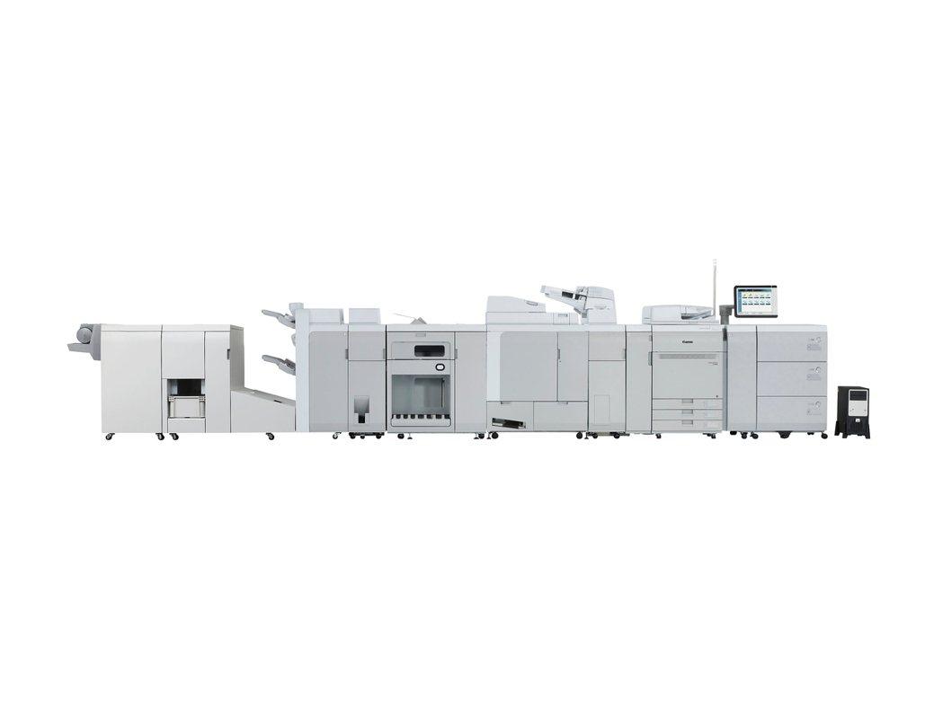 Canon創新推出量產型彩色數位印刷機imagePRESS C910系列。 台灣...