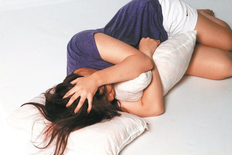 失眠示意圖。 圖/聯合報系資料照片