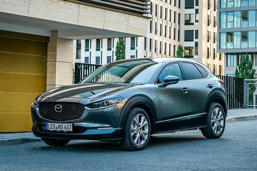 預計最快今年底前Mazda CX-30就會登台發表。 圖/Mazda提供