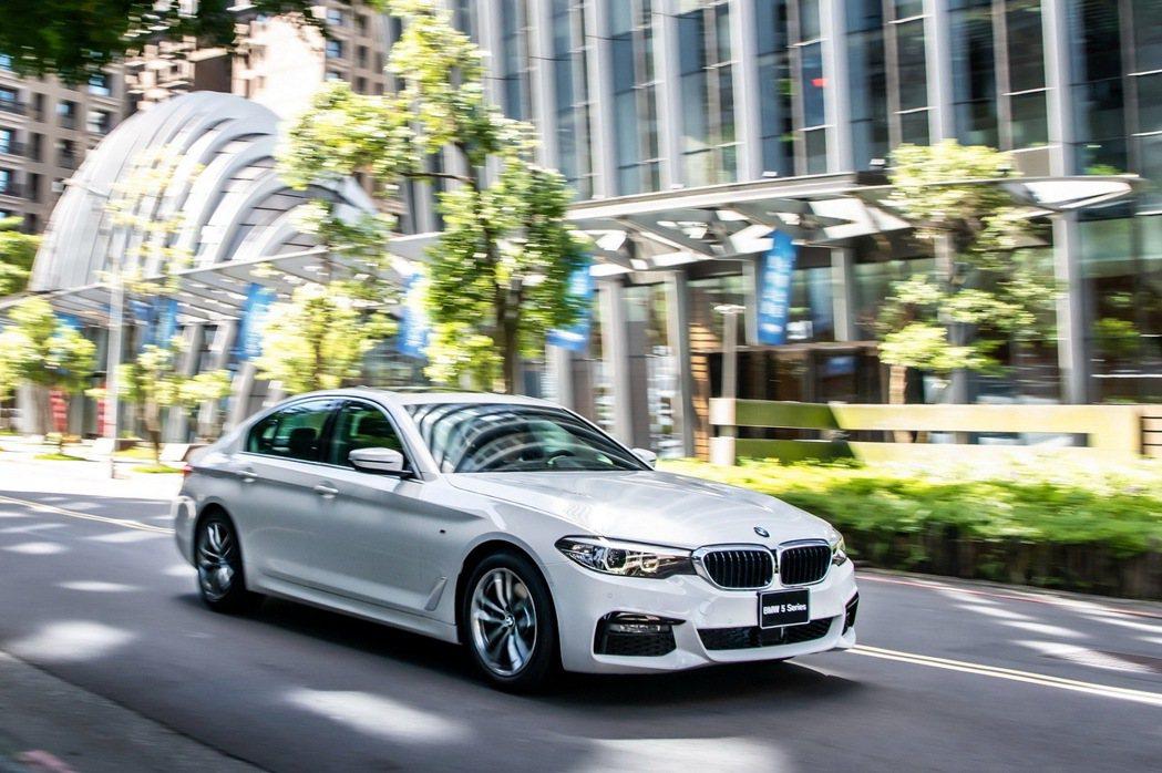 BMW 5系列白金旗艦版全新登場。 圖/汎德提供