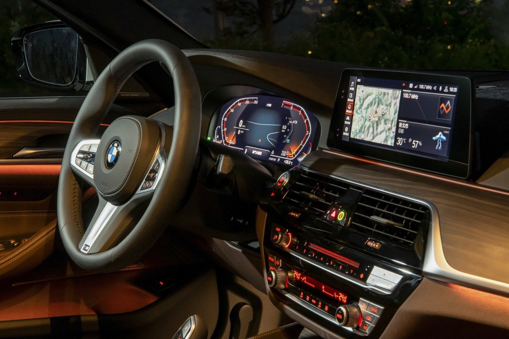 全新BMW 5系列白金旗艦版全面升級iDrive7.0全數位虛擬座艙含智能衛星導...
