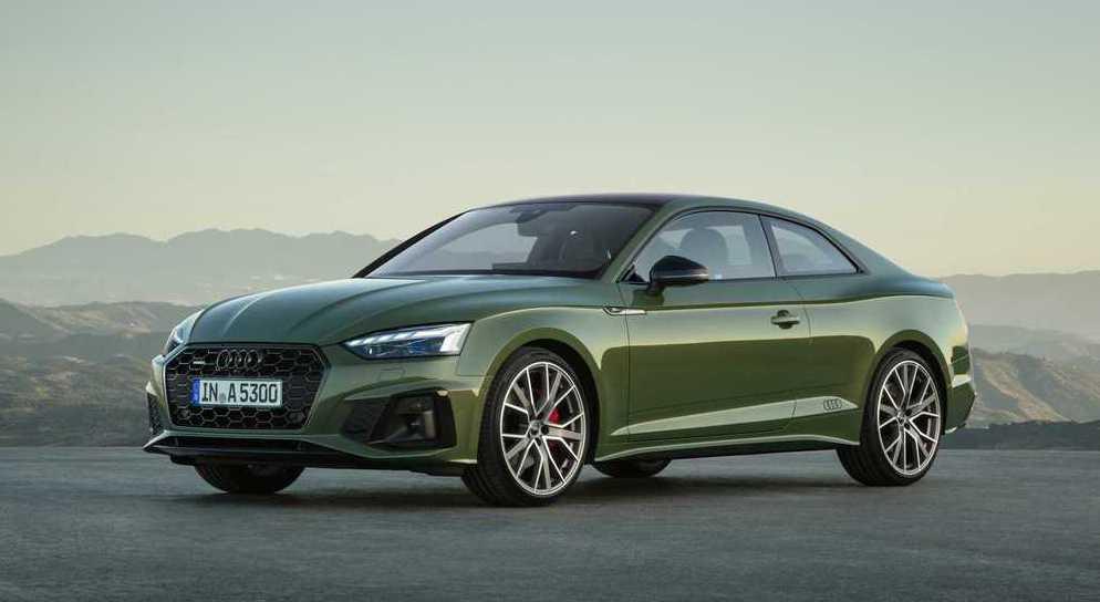 2020 Audi A5 Coupe。 摘自Audi