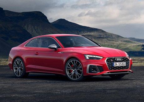 2020年式Audi A5車系小改款 輕油電系統全面導入!