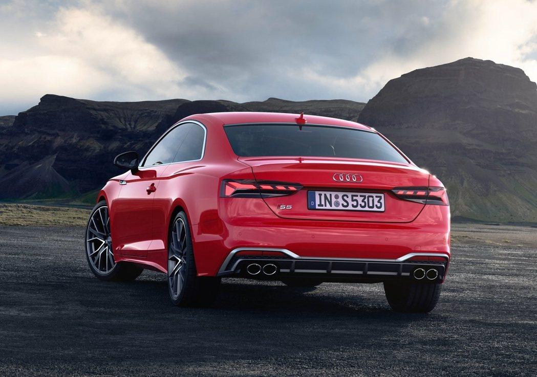 2020 S5 Coupe TDI。 摘自Audi